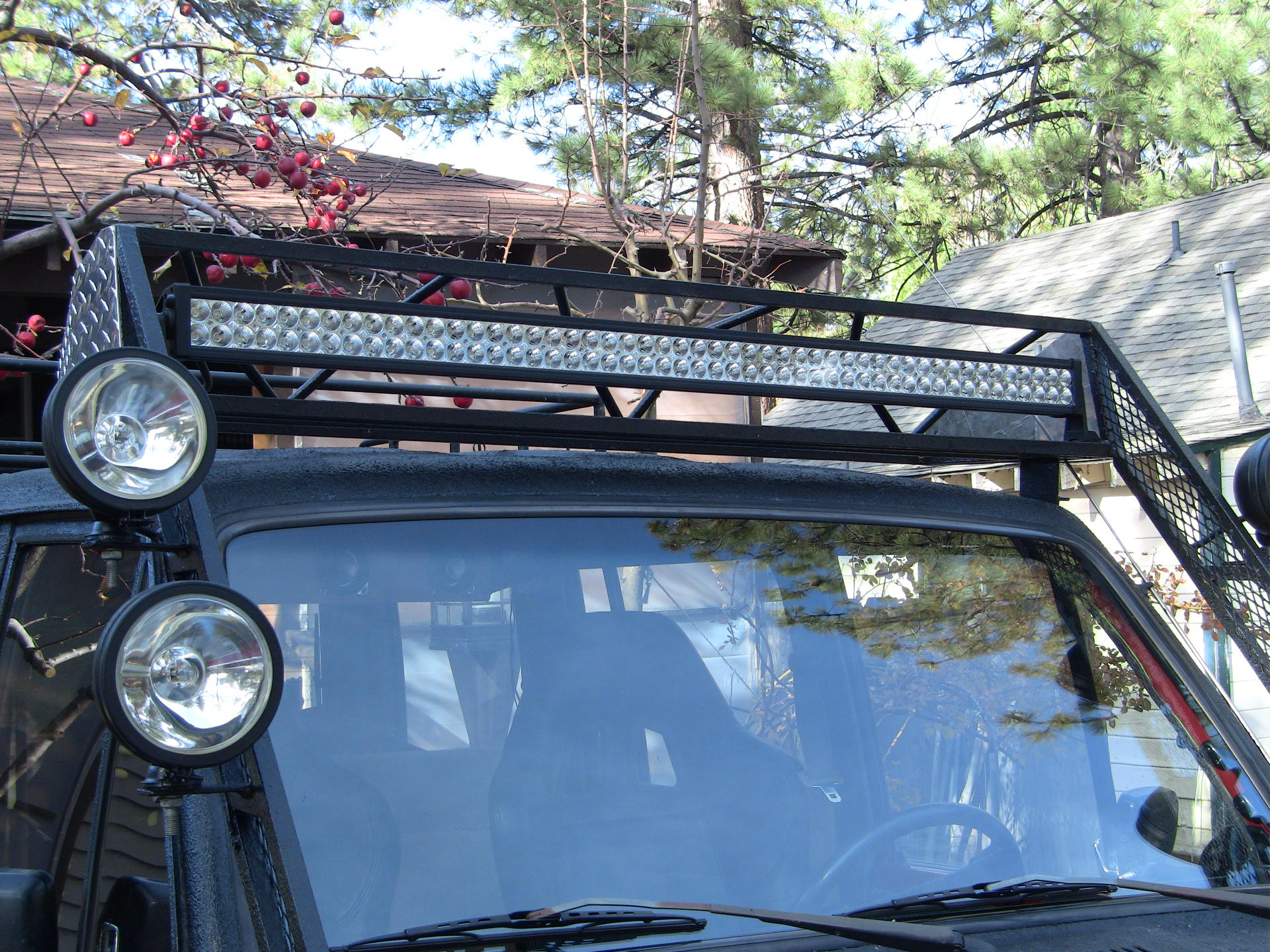 New mods to the trooper and more to come photo 19026959 300w led light bar four 130w spotters aloadofball Images