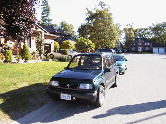 Another Madflava 1992 Suzuki Sidekick post... - 737502