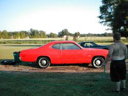75dustercb 1975 Plymouth Duster