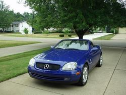 230kompressors 1998 Mercedes-Benz SLK-Class