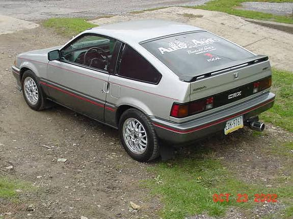 autoandaudio 1987 honda crx specs photos modification. Black Bedroom Furniture Sets. Home Design Ideas