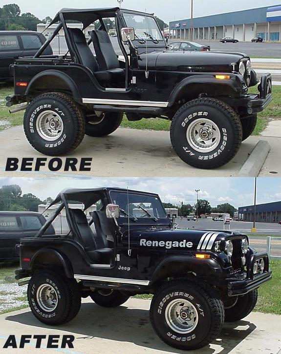 Rallystripescom 1980 Jeep Cj5 Specs Photos Modification