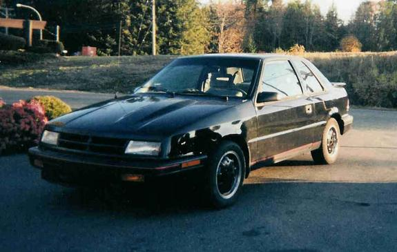 makingboost's 1989 Dodge Shadow