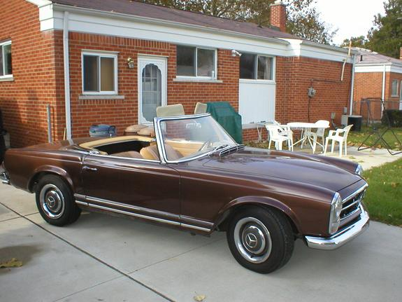 Another FlyinFrenchy 1967 Mercedes-Benz SL-Class post... - 805826