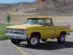 jtsf8s 1983 Chevrolet C/K Pick-Up