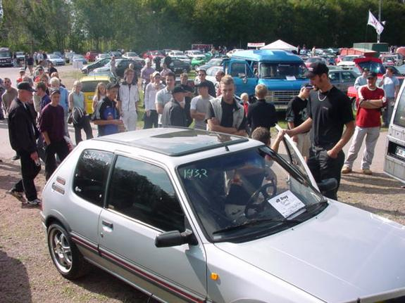 Another carlsson-1 1989 Peugeot 205 post... - 833676