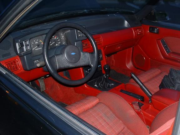 Another BlkP42E 1987 Ford Mustang post... - 864770