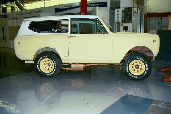 redraif 1976 International Scout II