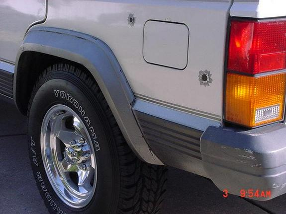 Another hammared 1989 Jeep Cherokee post... - 898401