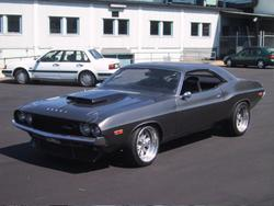 dodgems 1974 Dodge Challenger