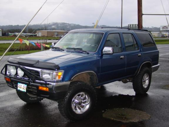 memphisrunner 1992 toyota 4runner specs photos. Black Bedroom Furniture Sets. Home Design Ideas