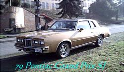 Goldmembers 1979 Pontiac Grand Prix