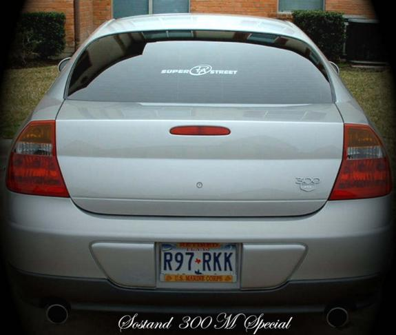 Sostand 2002 Chrysler 300M Specs, Photos, Modification
