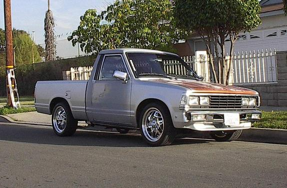 nis720 1986 Nissan 720 Pick-Up 29188