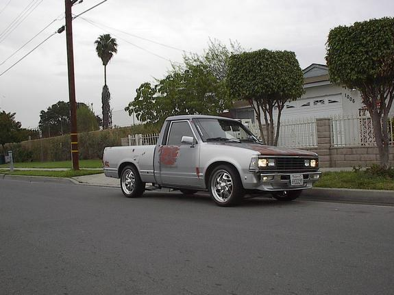 nis720 1986 Nissan 720 Pick-Up 29190