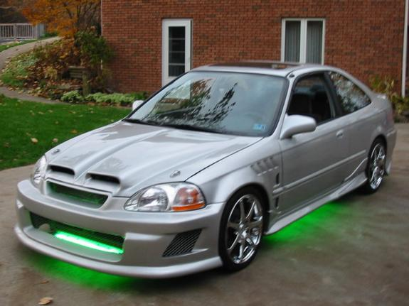 Pimped Out Honda Civic Si Tricked out 200...