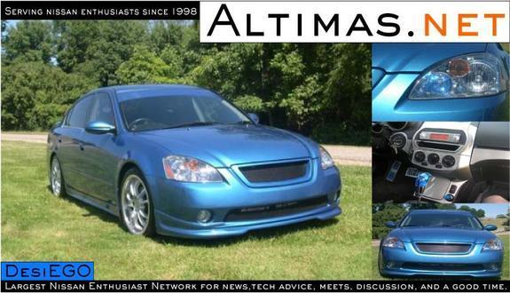 Another desiego 2003 Nissan Altima post... - 1041493