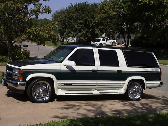 onebadasssub 1999 chevrolet suburban 1500 specs photos modification info at cardomain. Black Bedroom Furniture Sets. Home Design Ideas