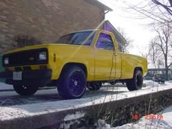 BlueBroncoIIs 1984 Ford Ranger Regular Cab