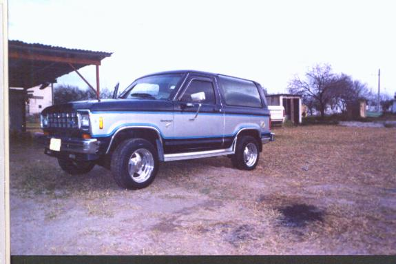 frontera 1984 Ford Bronco II 30537