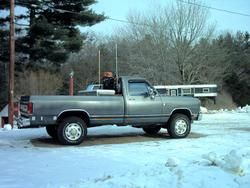 1chevy 1990 Dodge Ram 1500 Regular Cab