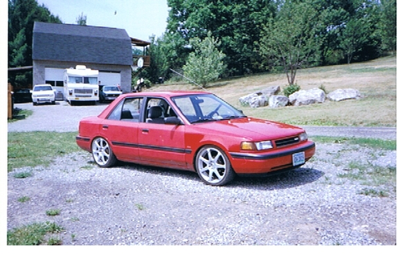 Another protegeboy86 1992 Mazda Protege post... - 1093997