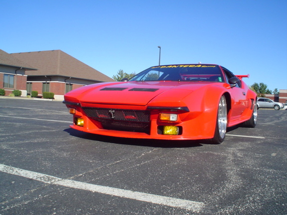 Another detomasopantera 1971 DeTomaso Pantera post... - 1095669