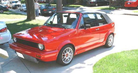 littleredrocket 1988 Volkswagen Cabriolet Specs, Photos ...