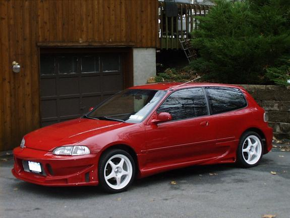 1995 civic hatchback specs