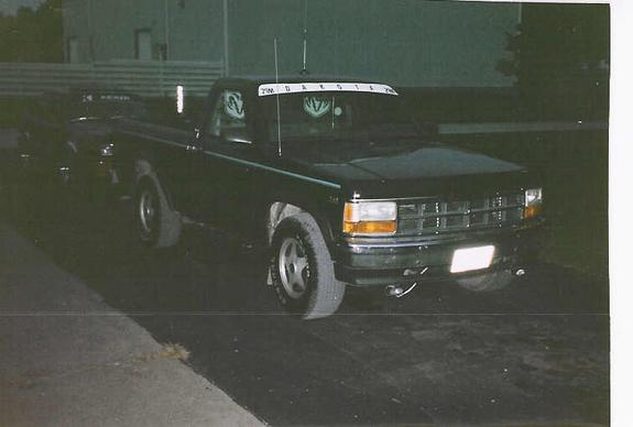 mattsmonte 1994 Dodge Dakota Regular Cab & Chassis