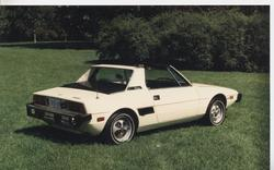 TIRESHREDDER 1978 Fiat X1/9