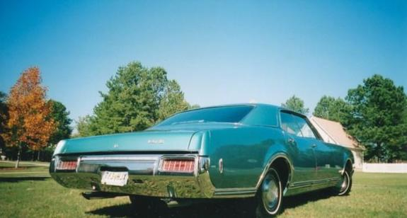 Another trumpeter5 1968 Oldsmobile Delta 88 post... - 1182401