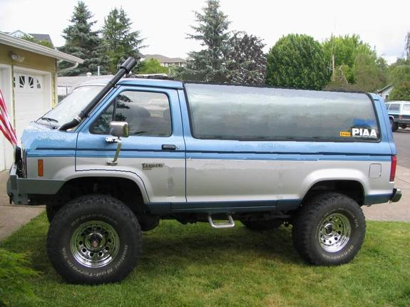 blue88b2 1988 ford bronco ii specs  photos  modification