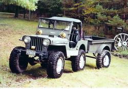 BoostedVDub 1946 Jeep CJ2A