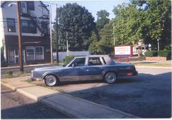 bANTHONY 1986 Lincoln Town Car