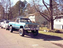 OUTLAWED383 1978 Chevrolet C/K Pick-Up