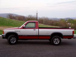 1990DakotaLE 1990 Dodge Dakota Regular Cab & Chassis
