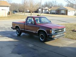 swindler 1990 Chevrolet S10 Regular Cab