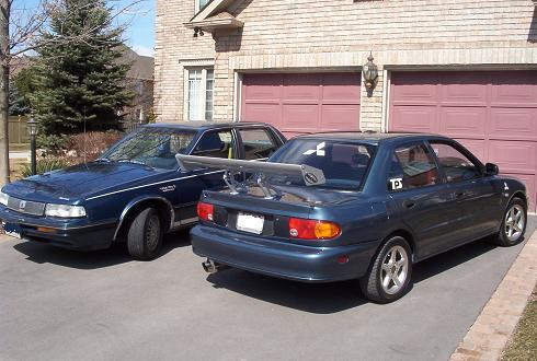 Another Project_Mirage 1993 Mitsubishi Mirage post... - 1286010