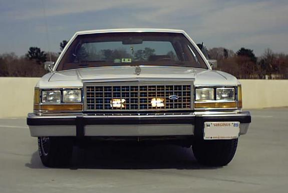 ford50only50 1985 Ford LTD Crown Victoria