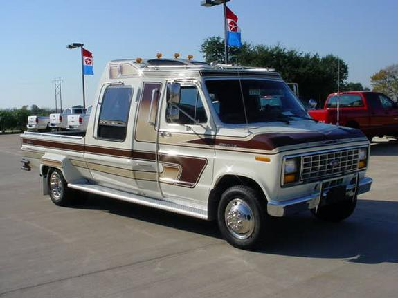 1986 ford e 350 conversion pickup