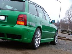 team_greens 1997 Audi A4