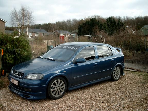 bleu demon 2002 opel astra specs photos modification info at cardomain. Black Bedroom Furniture Sets. Home Design Ideas