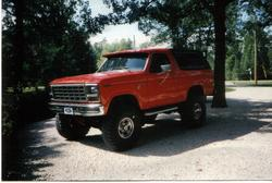 big_red_420 1980 Ford Bronco