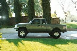 94CUSTOMZ 1994 Ford Ranger Regular Cab