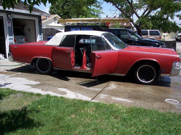 Another suicydal65 1965 Lincoln Continental post... - 1412708