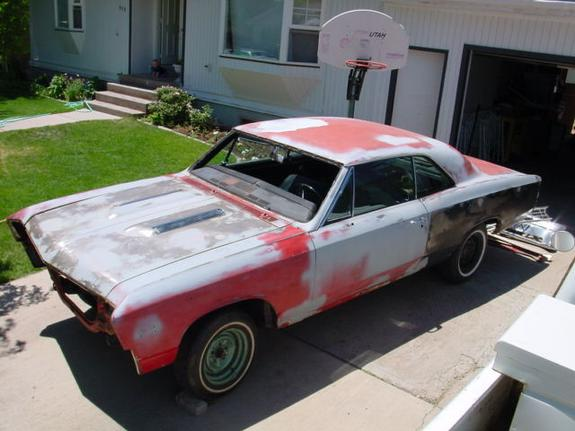 67 Chevelle Ss Project Car For Sale
