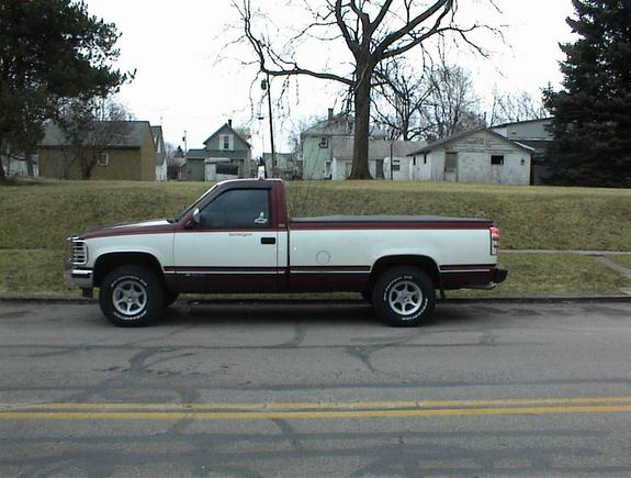 1988 Chevrolet Silverado 1500 Regular Cab