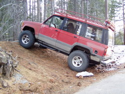 1986 Isuzu Trooper