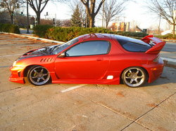 BlazinBlueMX3s 1993 Mazda MX-3